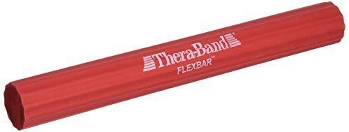 TheraBand Flexbar Resistance Bar For Improving Grip Strength, Tennis Elbow, Golfers Elbow, Tendonitis, Beginner Level 2, Light, Red - http://www.exercisejoy.com/theraband-flexbar-resistance-bar-for-improving-grip-strength-tennis-elbow-golfers-elbow-tendonitis-beginner-level-2-light-red/fitness/