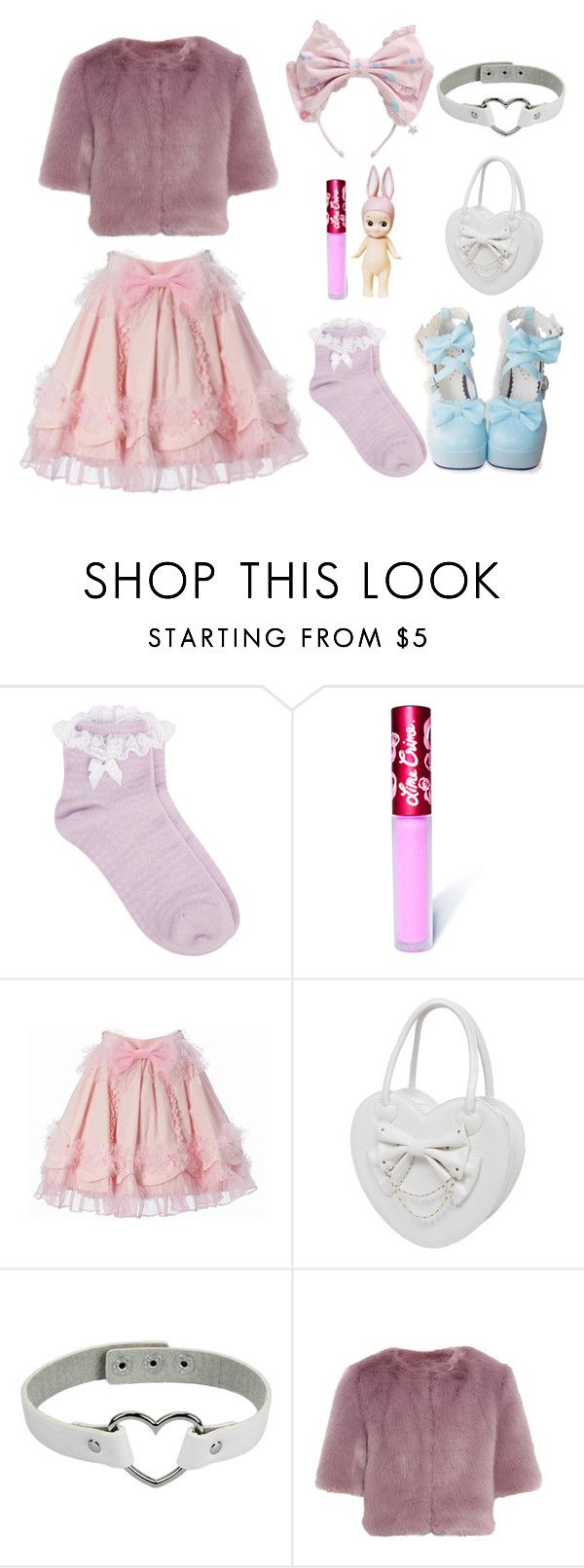 """❤Melanie Martinez // Carousel Inspired Outfit❤"" by cheryl11132 ❤ liked on Polyvore featuring Oasis, Lime Crime, Shrimps, melaniemartinez and Crybaby"
