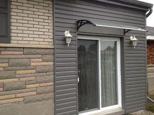 Auvent en acrylique (marquise) 50''x31'' et 60''x31'' à vendre Laurentides Québec image 2