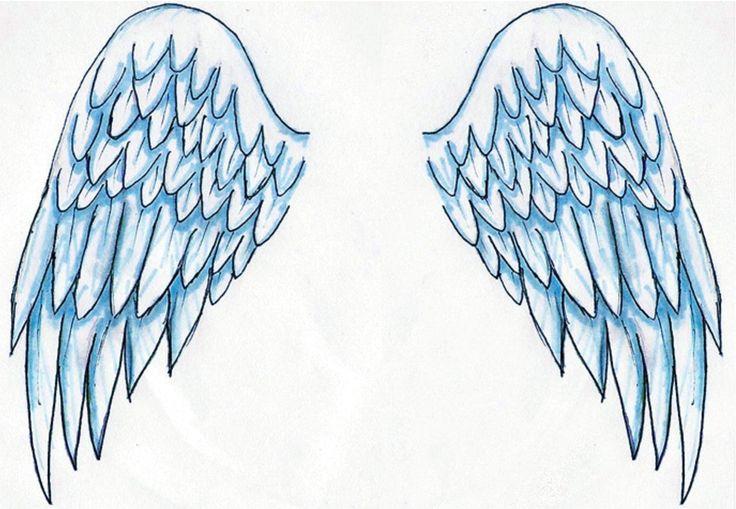 Dibujos y Plantillas para imprimir: Alas de Angel                                                                                                                                                                                 Más