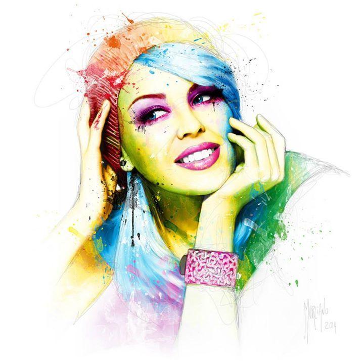 Kyle Minogue by Patrice Murciano #Illustration