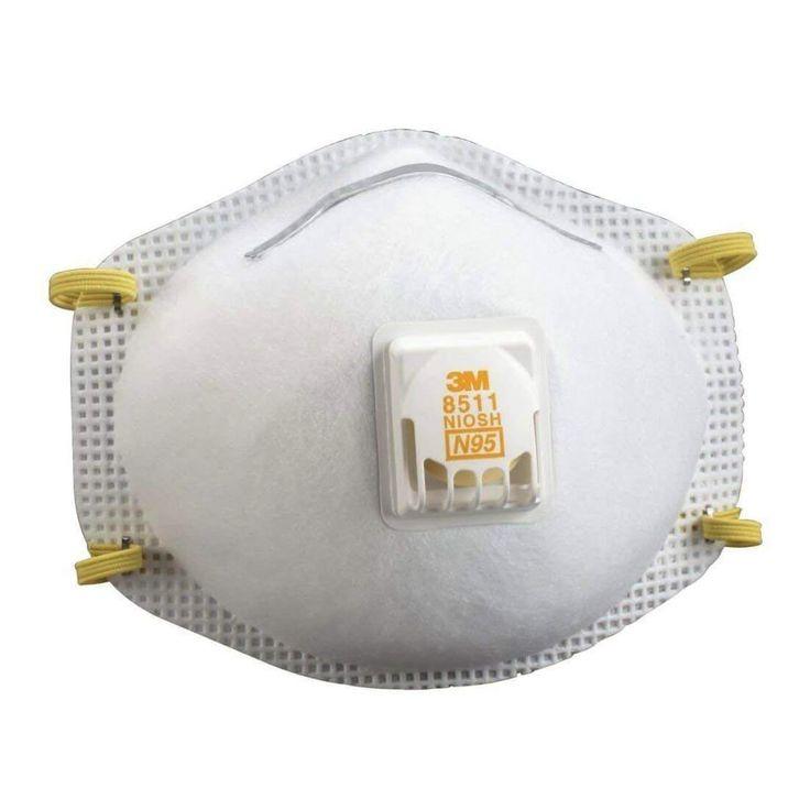 3m 8511 respirator n95 cool flow valve 5 pack