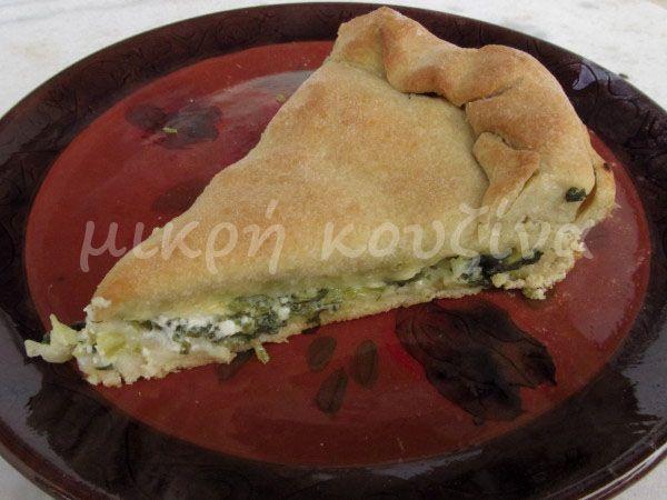 μικρή κουζίνα: Εύκολη χορτόπιτα για αρχάριους και για πρωτευουσιά...