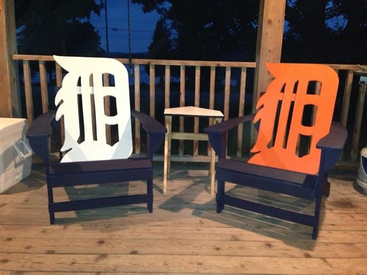 Detroit Tigers Lawn Chairs Detroit Tigers Pinterest