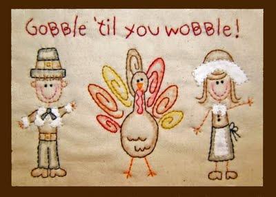 Gobble 'til you wobble!
