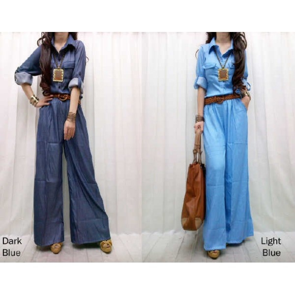 jumpsuit denim @100rb