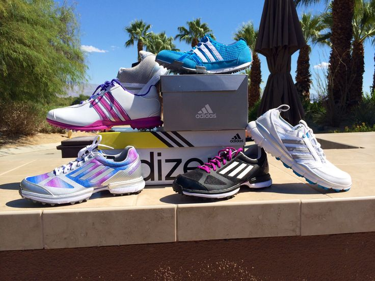Ladies Adidas and Adizero golf shoes #adidas #adizero #golfshoes