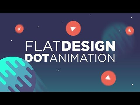 Cinema 4D Tutorial: Flat Design Dot Animation - YouTube