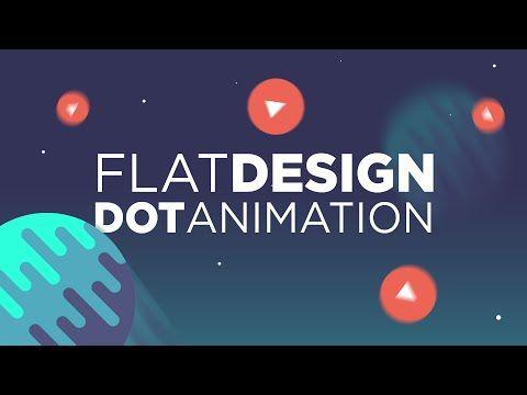 Cinema 4D Tutorial: Flat Design Dot Animation - YouTube