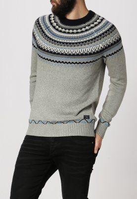 Selected Homme - JACQUARD - Strikpullover /Striktrøjer - light grey melange 499,-