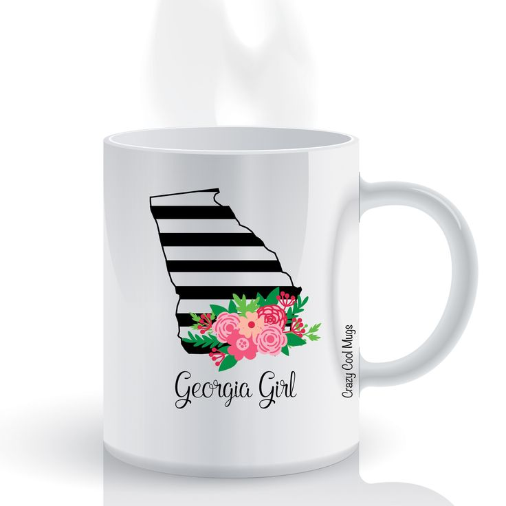 Georgia Girl State Pride Coffee Mug