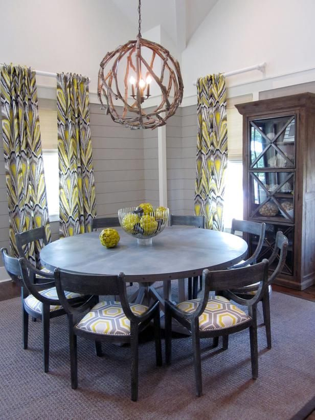 Attracting Love: Arrange Dining Table in a Circle - 19 Feng Shui Secrets to Attract Love and Money on HGTV