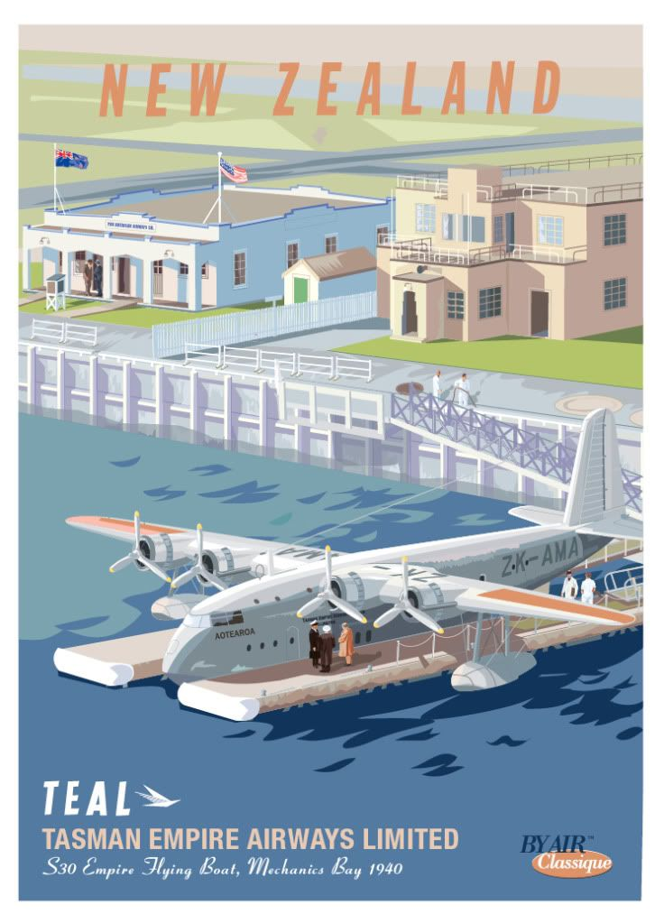 Flying Boats in Auckland 70 Years Ago   Wings Over New Zealand