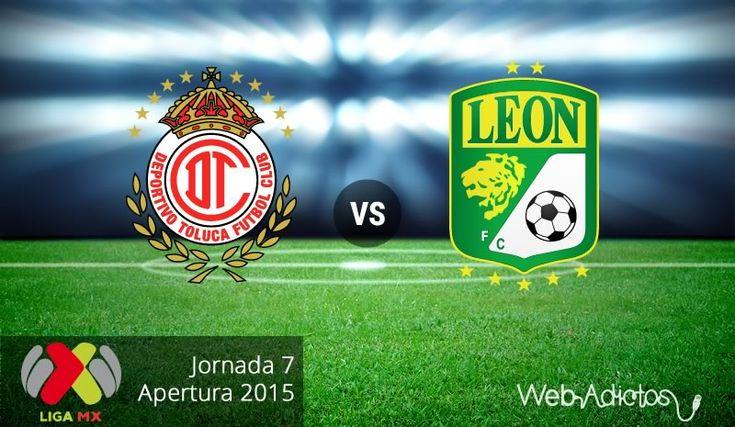 Toluca vs León, Jornada 7 del Apertura 2015 ¡En vivo por internet! - http://webadictos.com/2015/08/30/toluca-vs-leon-apertura-2015/?utm_source=PN&utm_medium=Pinterest&utm_campaign=PN%2Bposts