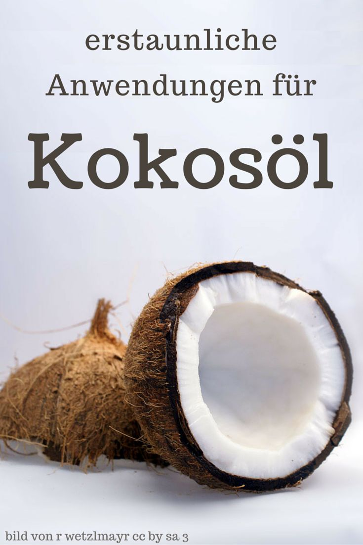 Kokosöl ist sehr vielseitig einsetzbar! Allerdings leistet es dir nicht nur in der Küche wertvolle Dienste. Ungewöhnliche Anwendungen findest du hier.