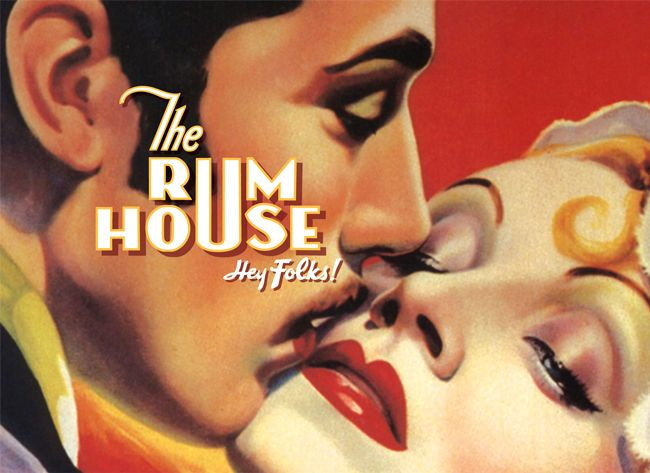 The Rum House brand identity