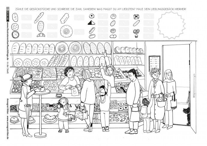 in der stadt einkaufen b ckerei ritter daf einkaufen lebensmittel einkaufen und stadt. Black Bedroom Furniture Sets. Home Design Ideas