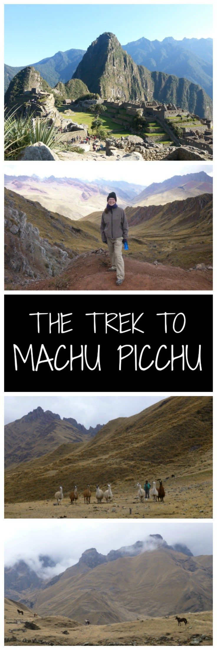 The trek to Machu Picchu is an incredible, challenging, once in a lifetime experience. For those who weren't able to book the traditional Inca Trail, this gives you a taste of other options that are available for the trek across Peru's mountains to the Inca Citadel of Machu Picchu.