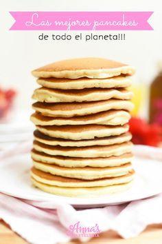Las mejores panquecas (pancakes, panqueques, tortitas, hotcakes) del mundo, MEJORADAS! » Anna's Pastelería