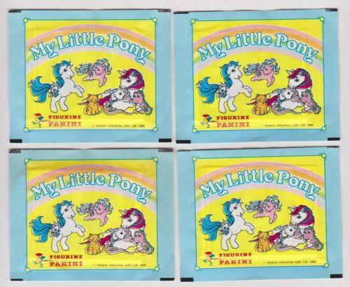1986 MY LITTLE PONY CARDS....PANINI