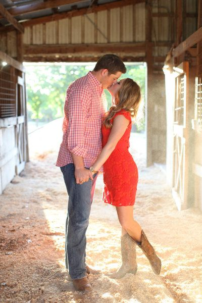 too cute for engagement pics! Again I'm not a country girl, but I'm willing to change for pictures! Lol
