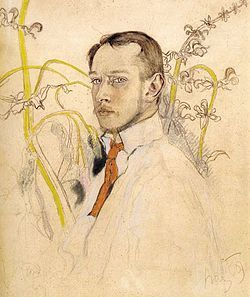 Sichulski self-portrait, 1909