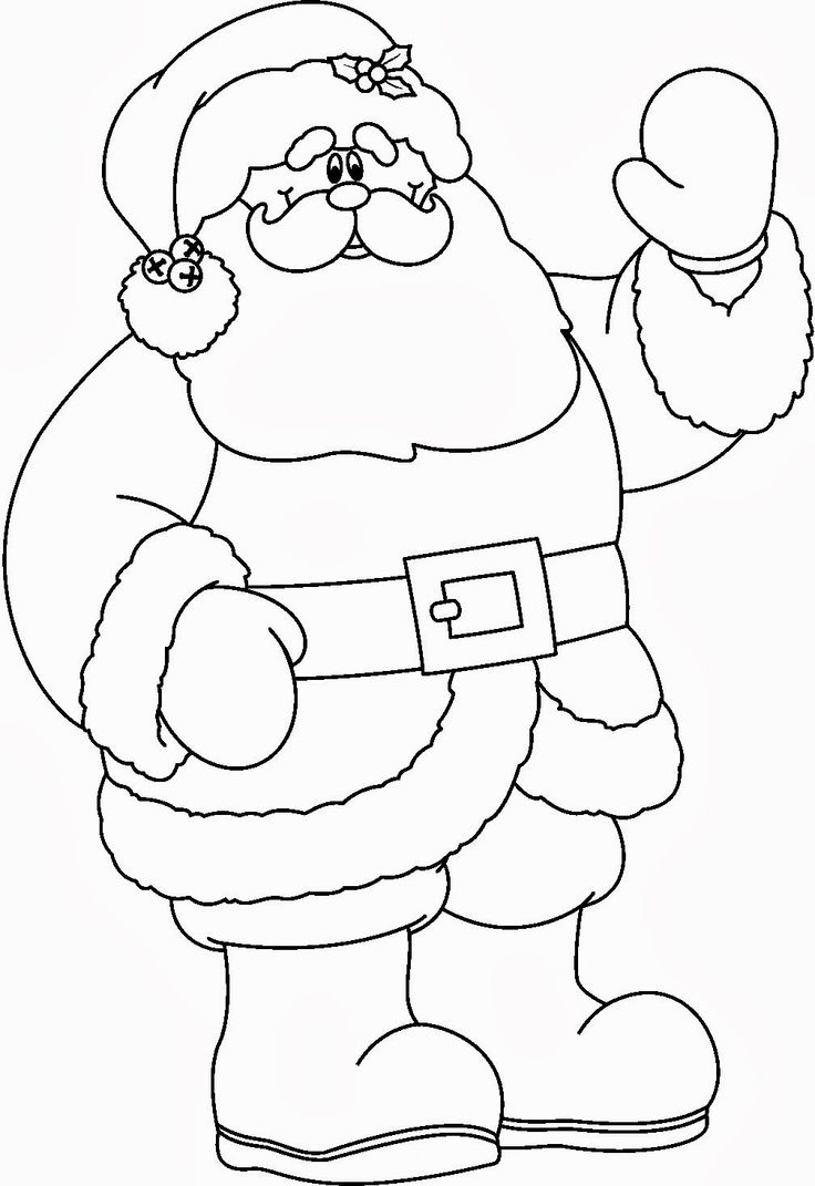 101 best coloring santa images on pinterest coloring drawings