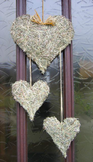 -Nova Gartentraum-: coração de feno