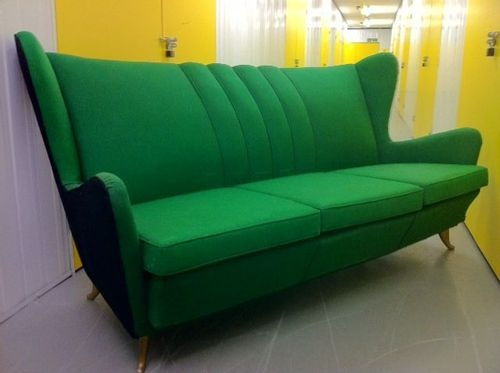 Kelly Green Sofa 50 S Sofas And Armchairs Pinterest