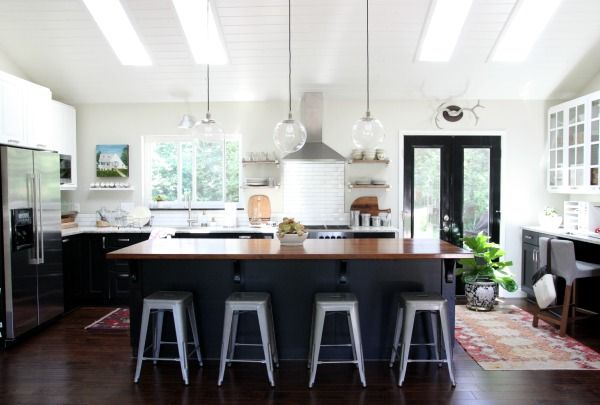 Amazing kitchen transformation! Love everything about this!
