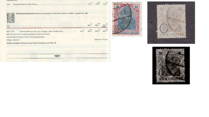 rare stamp Germany -for  sale