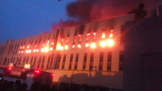 BREAKING: Yabatech Female Hostel Gutted By Fire