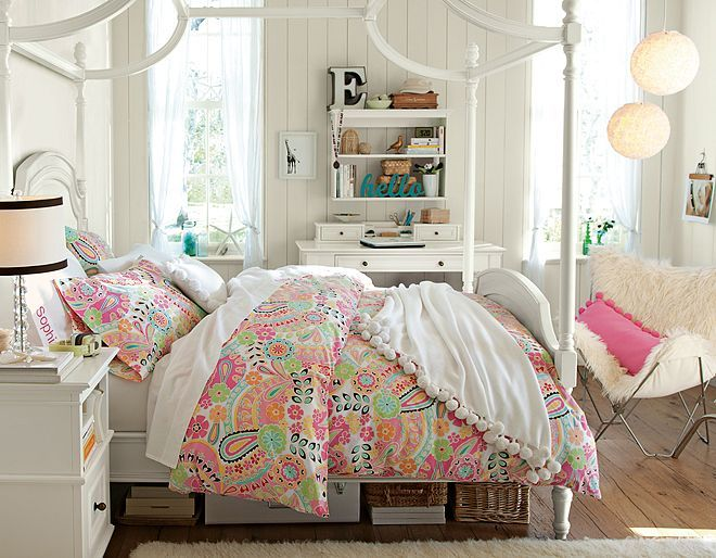 Teenage Girl Bedroom best 25+ teen canopy bed ideas on pinterest | bed canopy lights