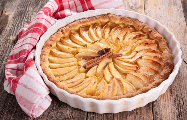 Apple pie is originally a European creation that is said to be brought to the US by early settlers. ... - Gourmandize