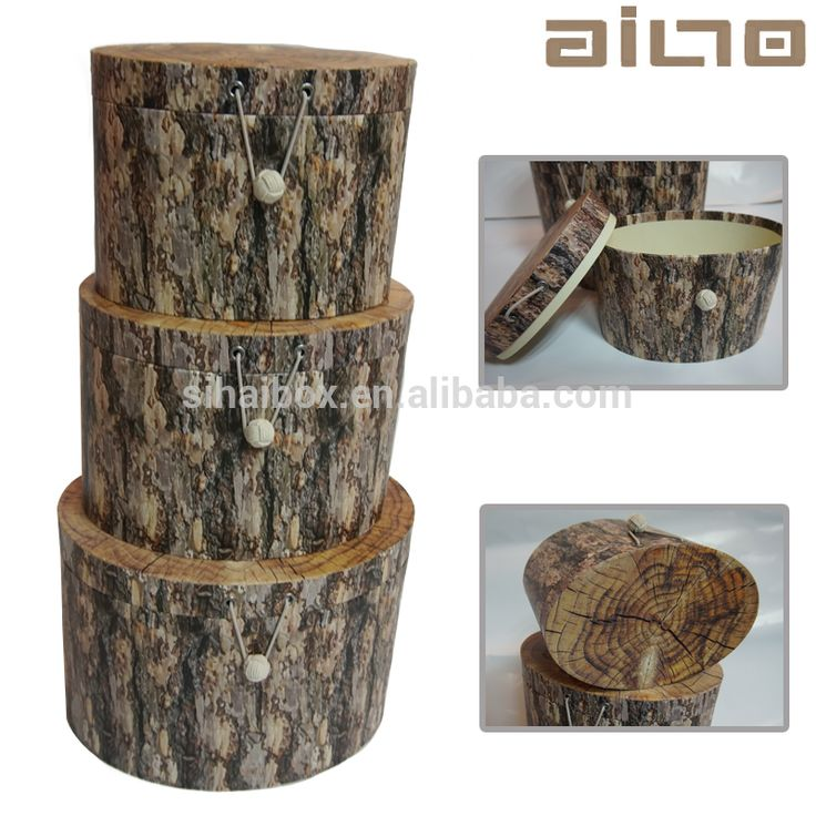 CMYK Рисунок древесины формы эллиптической бумага подарочная коробка для хранения с крышкой-Упаковочные коробки-ID товара::60594372147-russian.alibaba.com