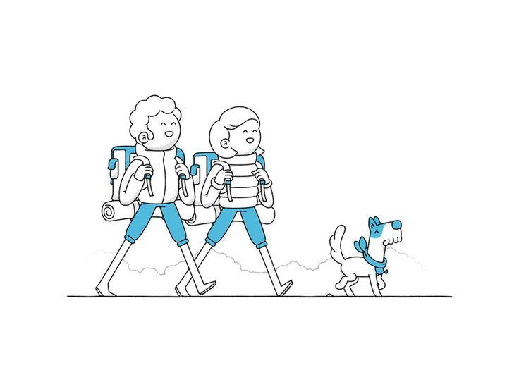 Markus Magnusson est un jeune illustrateur Suédois qui est également passionné par le motion design. Vous allez voir dans la sélection de Gifs animés que j'ai fait en dessous, que le garçon est vraiment doué, et que son style est super funky. Son compte Dribbble…