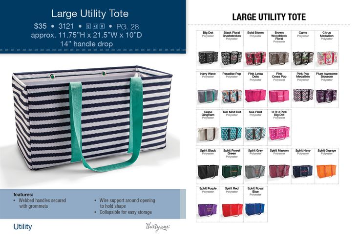 Check out this and more at www.31journey.com, 31 bags, 31 bag, large utility tote