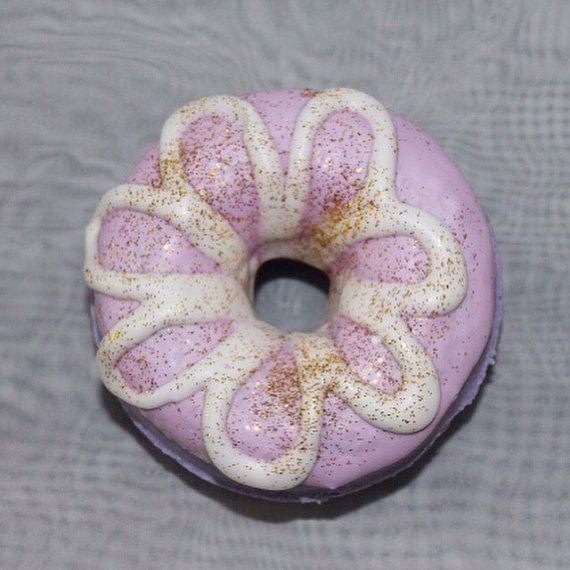 Sugar Plum Bath Donut by Neveska on Etsy