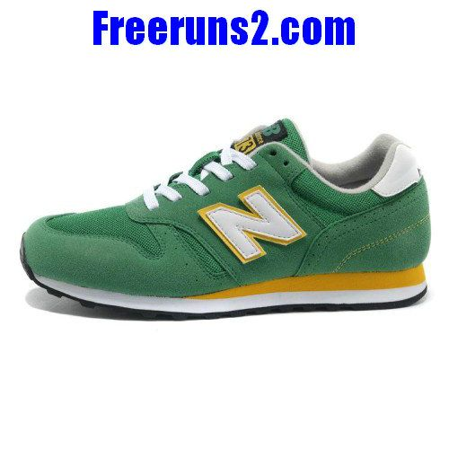 New Balance M373GRW Retro Green Yellow men running NB Shoes