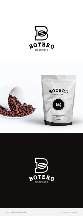 This is a logo for a coffee brand and within the logo they have shaped the B to look similar to a coffee bean.