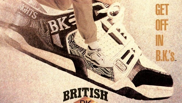 BK/British Knights shoes - my first pair of basketball shoes :)