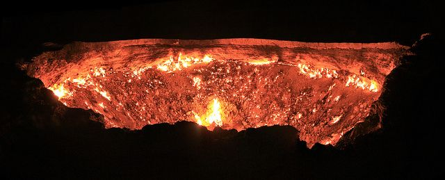 Door to Hell by Bentaubert, via Flickr