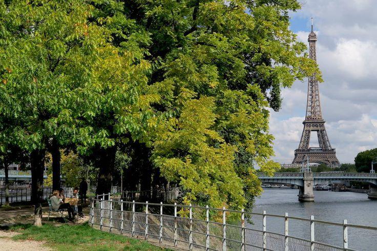 Ile aux Cygnes, Paris, France