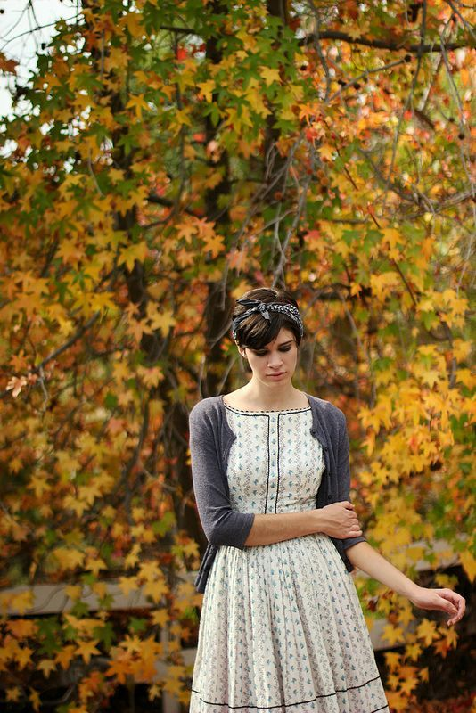 beautiful dress   autumn