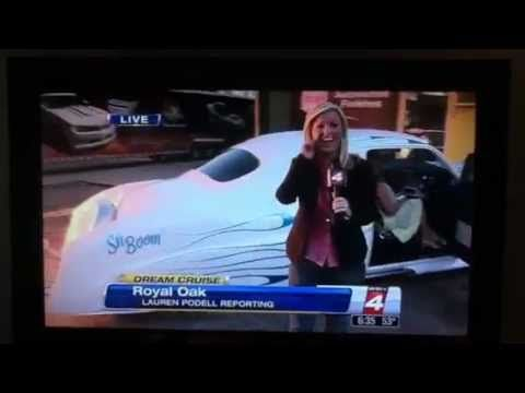 "Woodward Dream Cruise 2012 Sh Boom ~ Owner, Bob Fryz  ~ Paint by ""Boogie Man"" ~ Pinstriping by ""Lil"" Dickie"""