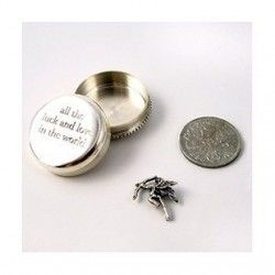 Tales from the Earth All the Luck and Love in the World Silver Box #Jewellery #Gifts