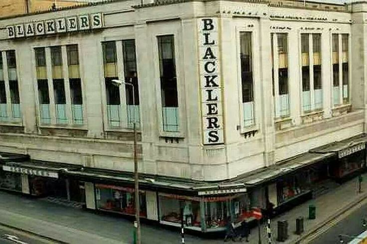 Blacklers 1960s  my mum got her first job in here when she was 15
