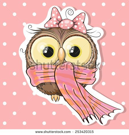 Cartoon Owls Illustration Photos et images de stock | Shutterstock