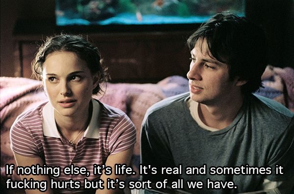 """10 """"Garden State"""" Quotes That Seemed More Profound In HighSchool"""