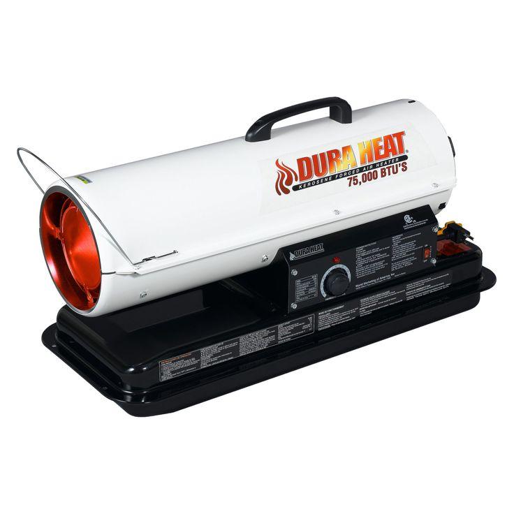 Dura Heat Heavy Duty Forced Air Utility Heater - 80,000 BTUs - DFA80T